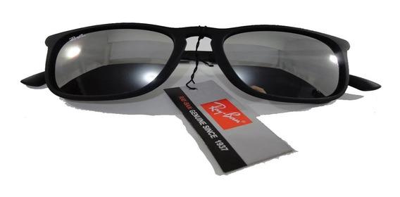 Óculos De Sol Preto Chris Lente Espelhada Envio Imediato!