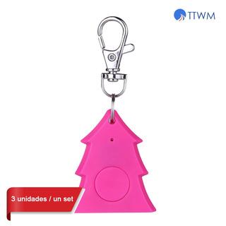 3*mini rbol De Navidad Dise?o Smart Alarm Key Finder