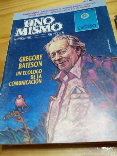 Revista Uno Mismo #62 - Agosto 1988 - Bateson - U