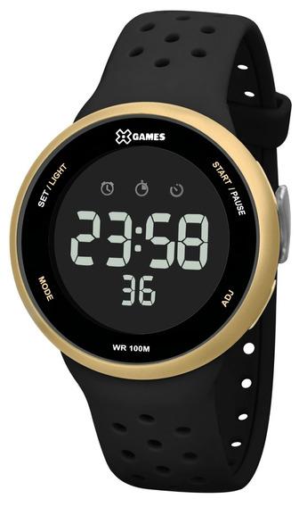 Relógio X-games Masculino Digital Xmppd545 Dourado Preto