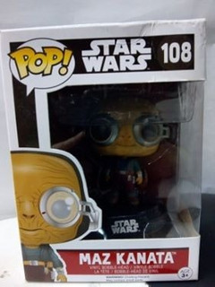 Figura Funko Pop! # 108 Star Wars Maz Kanata