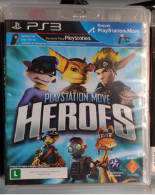 Playstation Move Heroes® -ps3 - Mídia Física Frete R$10