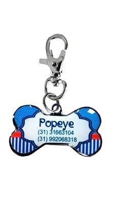Pingente Personalizado P/ Cães Navy - Personalizado