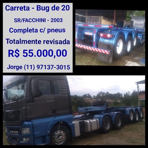 Carreta Bug De 20