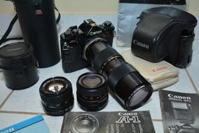 Canon A1 Bem Conservada Para Colecionador