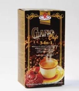 Gano Cafe 3 En 1 Cafe Con Ganoderma Lucidum De Excel.