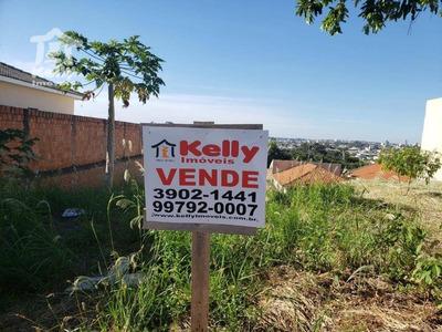 Terreno À Venda, 250 M² Por R$ 108.000 - Parque Dos Girassóis - Presidente Prudente/sp - Te0297