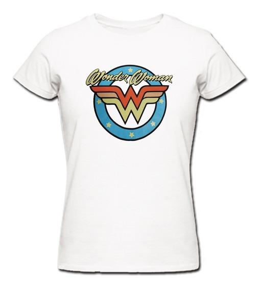 Remeras Wonder Woman Mujer Maravilla 05 |de Hoy No Pasa|