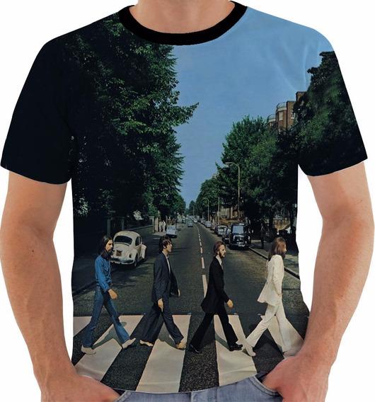 Camiseta Ou Regata Ou Baby The Beatles 9 Abbey Road Color