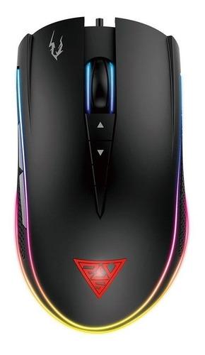 Mouse Gamer Gamdias Zeus M1 Rgb 7000dpi Com Fio Novo