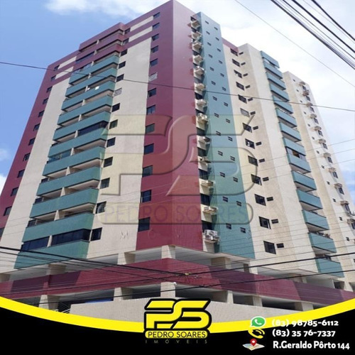 Apartamento Com 3 Dormitórios À Venda, 98 M² Por R$ 399.000 - Manaíra - João Pessoa/pb - Ap2482
