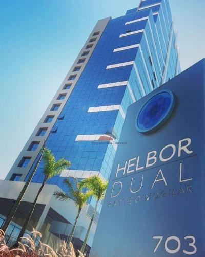Sala Para Alugar - Helbor Dual Patteo Mogilar  - Vila Mogilar - Mogi Das Cruzes/sp - Sa0016