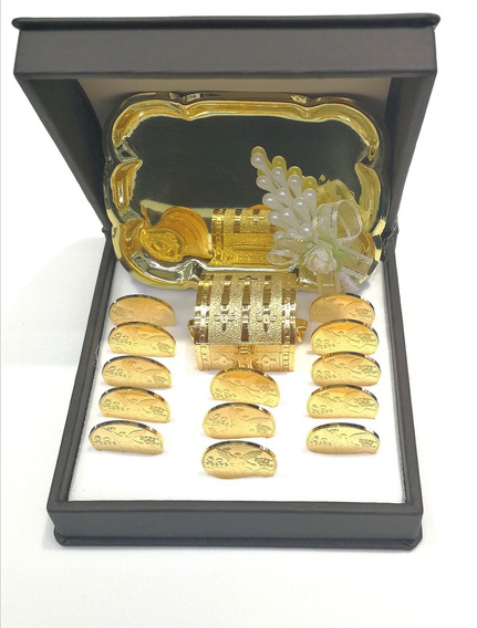 Arras Matrimoniales Boda En Oro Laminado De 14k