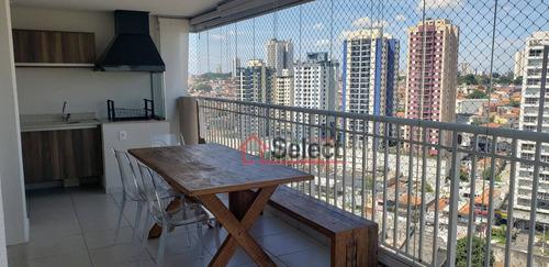 Apartamento Com 3 Dormitórios À Venda, 91 M² Por R$ 848.000,00 - Vila Regente Feijó - São Paulo/sp - Ap0006