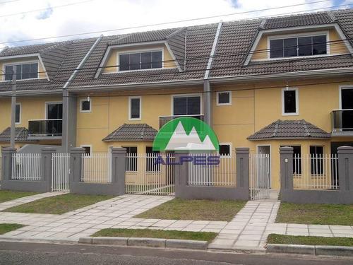 Sobrado Residencial À Venda, Boqueirão, Curitiba - So0038. - So0038