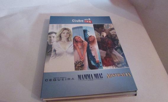 3 Dvds Clube Telecine (c/frete)