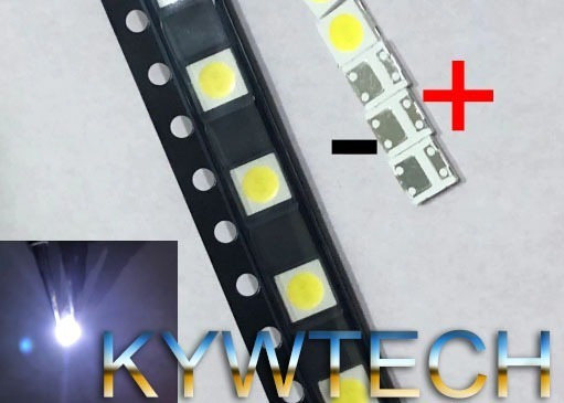 Kit 100 Pçs Led Lg 6v 2w 32lb550b 32lb560b 32ly340 Invertido