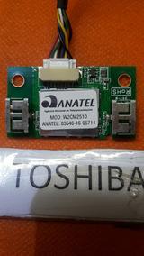 Placa Wifi Wireless Tv Toshiba 40l2600 W2cm2510 1634b Oferta