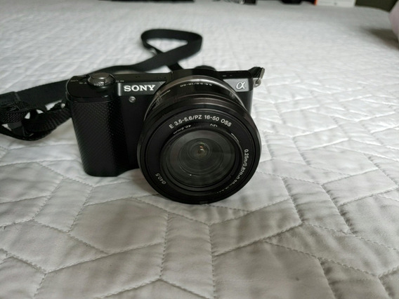 Camera Digital Sony A5000 (alfa) + 2 Lentes * Oportunidade *