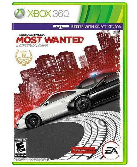 Need For Speed Most Wanted - Xbox 360 - Novo - Mídia Física