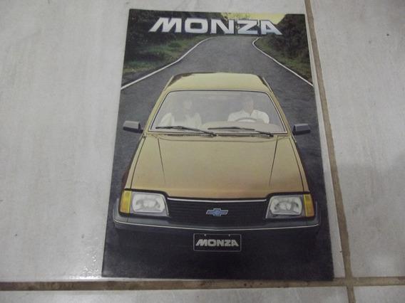 Brochura Original Chevrolet Monza 1982 Rara 24 Pgs