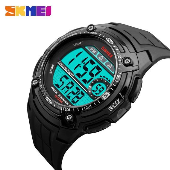Relógio Masculino Skmei Digital Preto 1203 Prova D