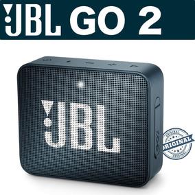 Caixa De Jbl Bluetooth Go 2 Chumbo Navy Original Com Nf
