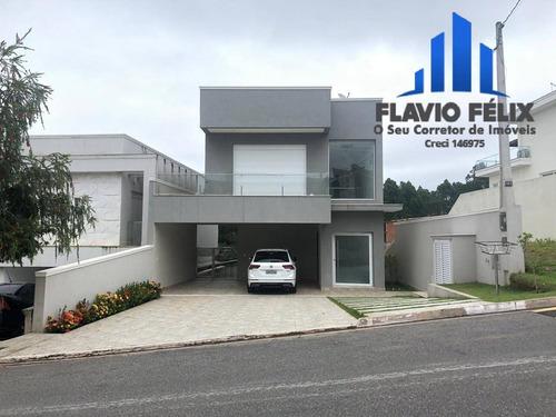 Imagem 1 de 15 de Casa Á Venda Condomínio Real Park 3 Suítes E Piscina - 728