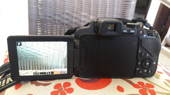 Câmera Nikon Coolpix P600 - 60x Zoom Óptico