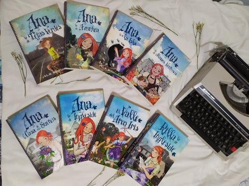 Saga  Ana De Las Tejas Verdes (7 Tomos)
