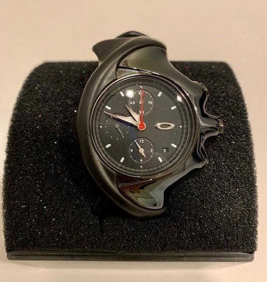 Relógio Oakley Detonator Chronograph (preto Chrome)