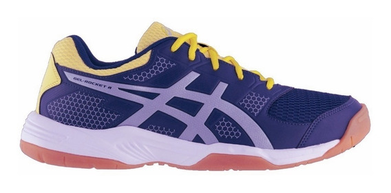 Zapatillas Asics Gel Rocket 8 A Voley Squash Handball Indoor