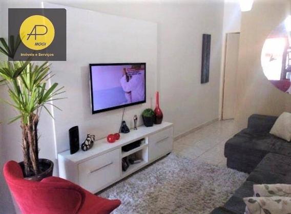 Casa Com 2 Dormitórios À Venda, 65 M² - Mogi Moderno - Mogi Das Cruzes/sp - Ca0081