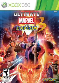 Ultimate Marvel Vs Capcom 3 Xbox 360 Original Usado
