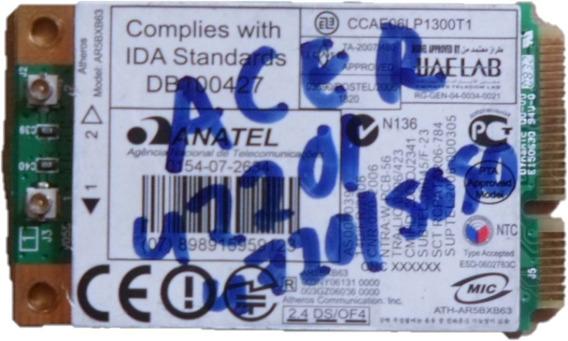 Placa Wireless Notebook Hp Compaq C700 T60h976-07 Usado