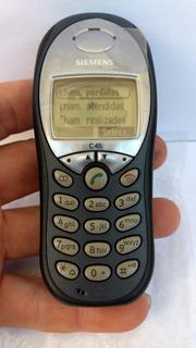 Celular Siemens C45 Novo Original Desbloqueado Muito Raro