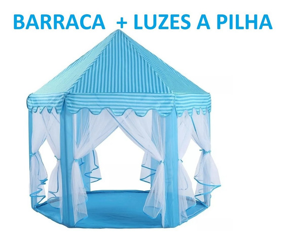 Barraca Cabana Tenda Castelo Infantil Princesas 2019