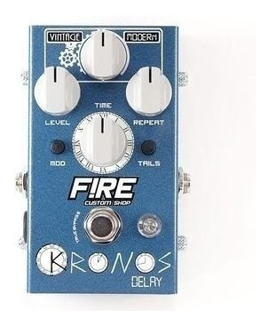 Pedal Fire Custom Shop Kronos Delay+brindes Nfe