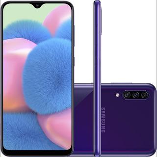 Smartphone Samsung Galaxy A30 64gb Câmera 16mp + 5mp
