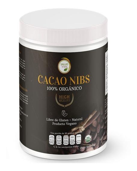 Cacao Nibs Mexicano Orgánico Premium 1 Kg. Envío Incluido