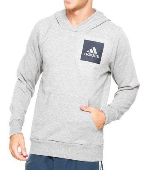 Moletom adidas Ess Logo Hood Original + Nf