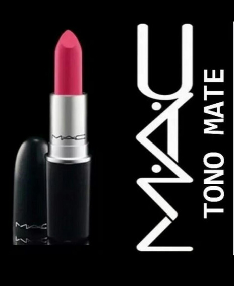 Labiales Mac Barra Mate Maquillaje Al Mayor