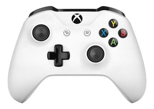 Imagen 1 de 2 de Control joystick inalámbrico Microsoft Xbox Mando inalámbrico Xbox One white