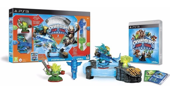 Kit Inicial Skylanders Traskylanderp Team Starter Pack - Ps3