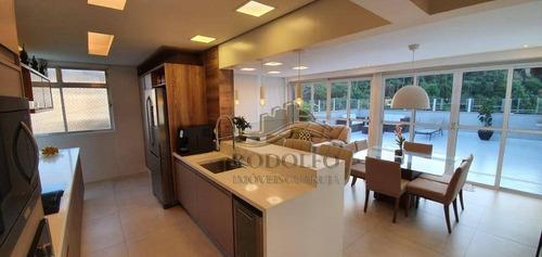 Imagem 1 de 27 de Cobertura Com 3 Dormitórios À Venda, 108 M² Por R$ 850.000,00 - Praia Das Astúrias - Guarujá/sp - Co0019