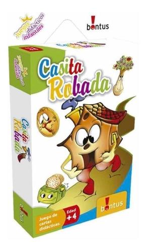 Casita Robada Juegos Didacticos Con Cartas Original Bontus