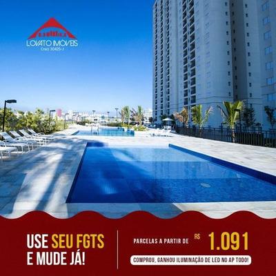 Apartamento Para Venda Em São Bernardo Do Campo, Jardim Olavo Bilac, 2 Dormitórios, 1 Banheiro, 1 Vaga - Elc00102