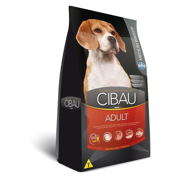 Ração Cibau Para Cães Adultos De Raças Médias - 15kg
