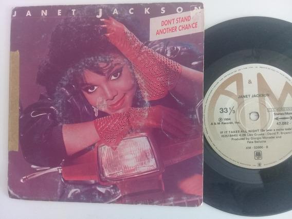 Janet Jackson, Compacto 1984, Frete R$18,00 (leia Descrição)