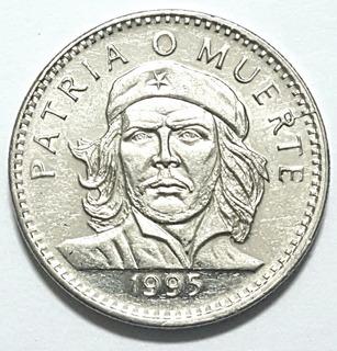 Moneda. Ernesto Che Guevara. (1995) 3pesos Cubanos.